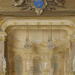 Model Of The Salle Des Mach...