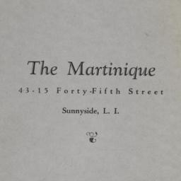 The     Martinique, 43-15 4...