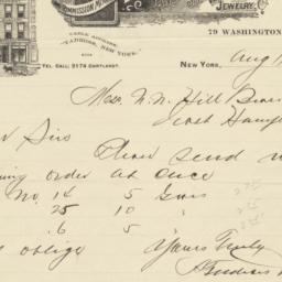 Antoni Tadross & Co. letter