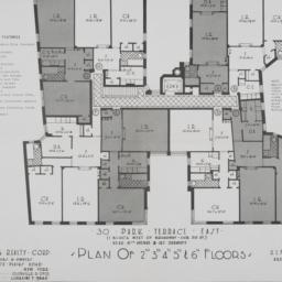 30 Park Terrace East, Plan ...