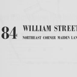 84 William Street