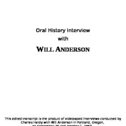 Oral history interview with...
