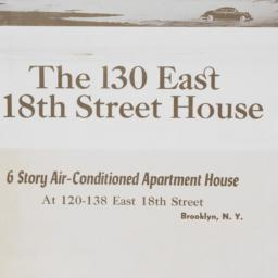 130 East 18th Street House,...