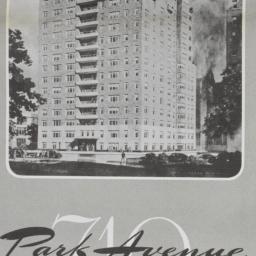 710 Park Avenue, Plan Of 14...