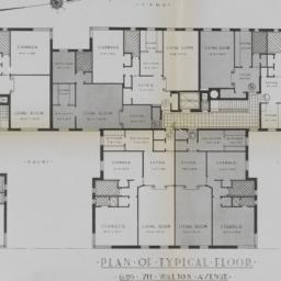 695 Walton Avenue, Plan Of ...