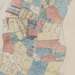 Map of the city of New York...