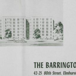 The     Barrington, 42-25 8...