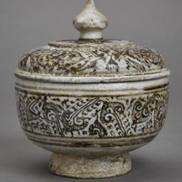 Dragon-designed Bowl with Lid