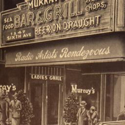 Murray's Restaurant, Sixth ...