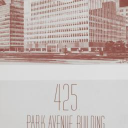 425 Park Avenue, 18th To 22...