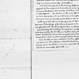 Document, 1825 May n.d.