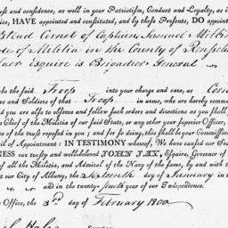 Document, 1800 January 16