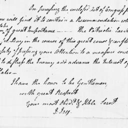 Document, 1778 December 29
