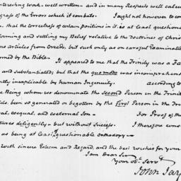 Document, 1822 February 18