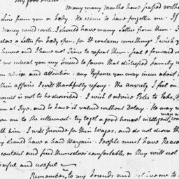 Document, 1783 April 06