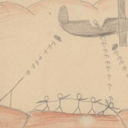Drawing Of A Black Plane