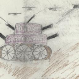 Combat Between Two Tanks An...