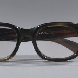 Black glasses owned by Tenn...
