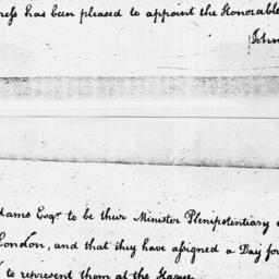 Document, 1785 March 10