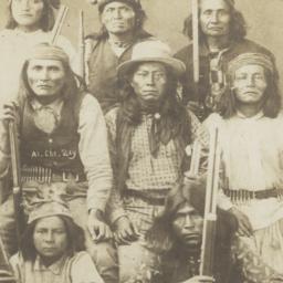 Group of Apache Men,  Inclu...