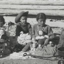 Navajo Children the Day aft...