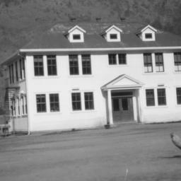 School Building, Hoopa, Cal...