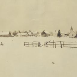 View of Nett Lake Village, ...