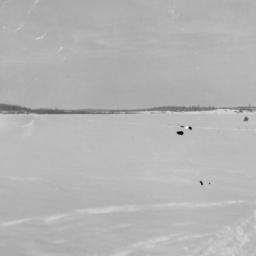 Winter View of Lake Pelican...