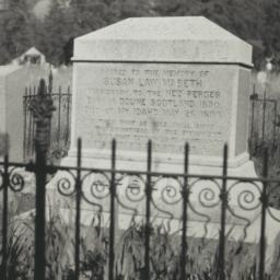 Gravestones of Kate McBeth ...