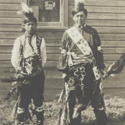 American Indian Boys in Tra...