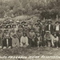 Old Apache Scouts, Mescaler...