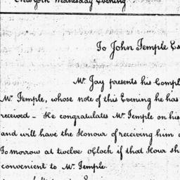 Document, 1785 November 23