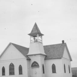 Chapel at Baptist Mission, ...
