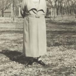 Elderly Woman Standing in a...