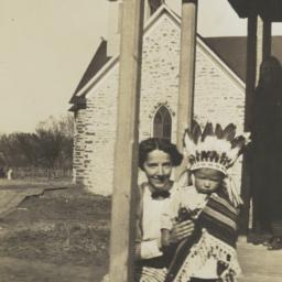Woman with American Indian ...