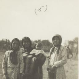 Three American Indian Girls...