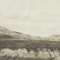Badlands Landscape, Rosebud...