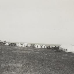 Camp scene at 50th Dakota A...