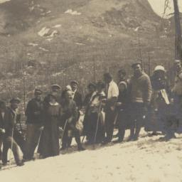 Group of Hikers on Side of ...
