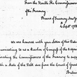 Document, 1785 September 06