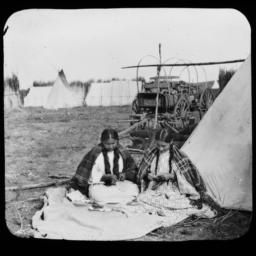 Two Young American Indian W...