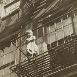 Child on Fire Escape