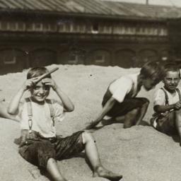 Four Boys on the Sand