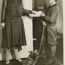 Social Worker Receiving an ...