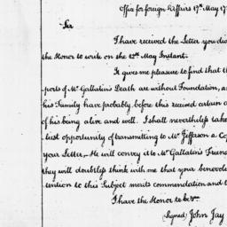 Document, 1786 May 17