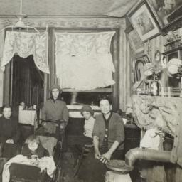 Family in Tenement Room