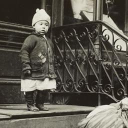 Child near Door