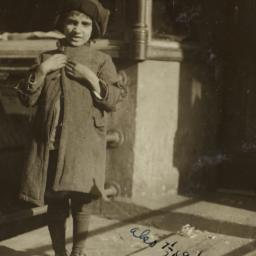 Child in Hat and Coat