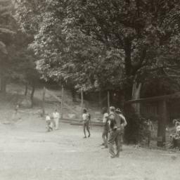 Boys Playing Baseball