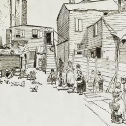 Wooster Street Houses, 1884